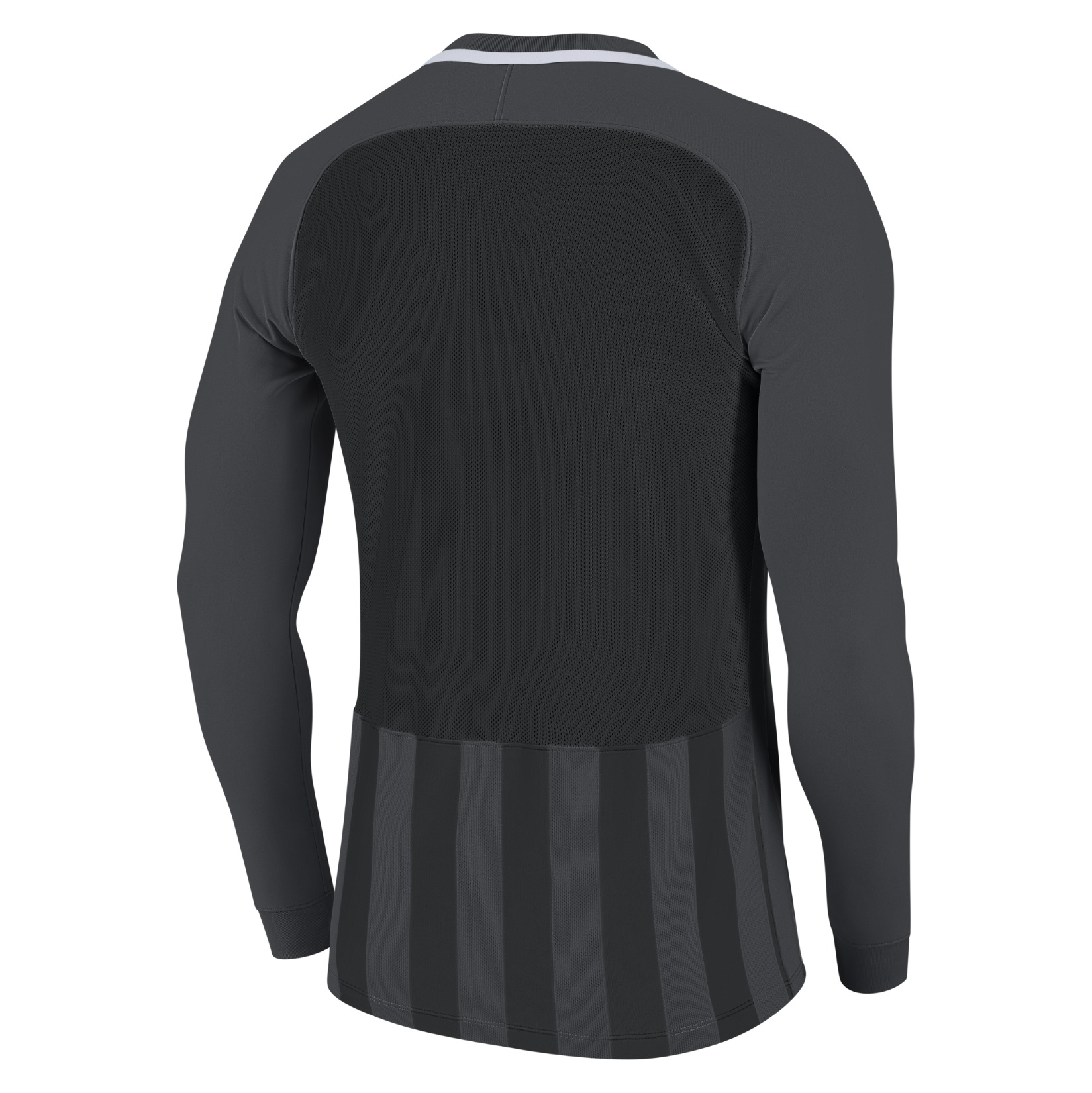 Nike Striped Division III Long Sleeve Football Shirt