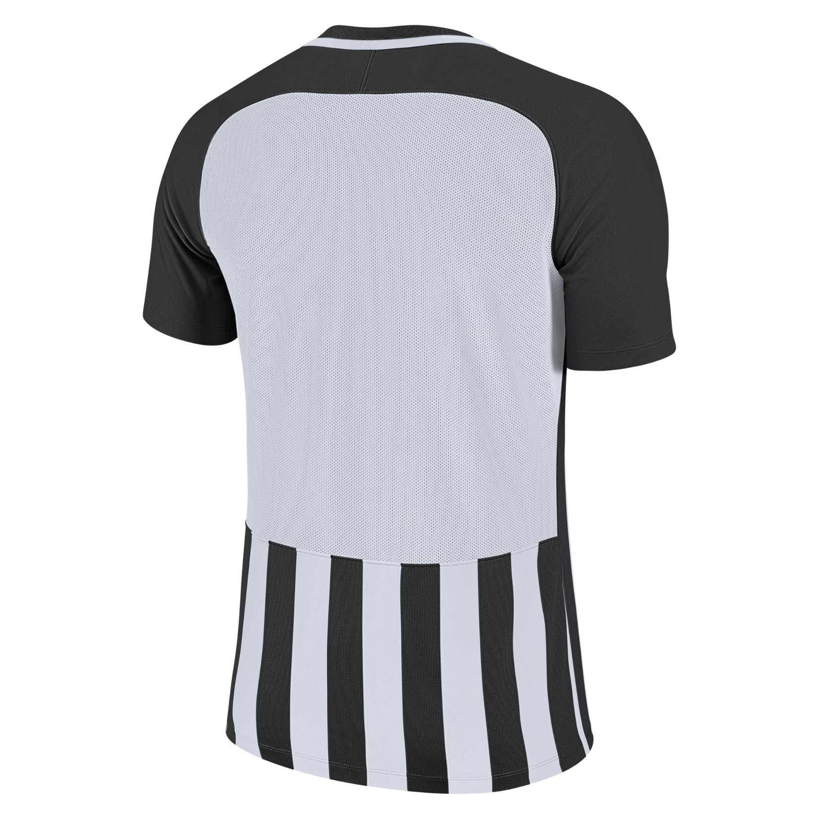 Nike Striped Division III Short Sleeve Shirt Black-White-White-Black