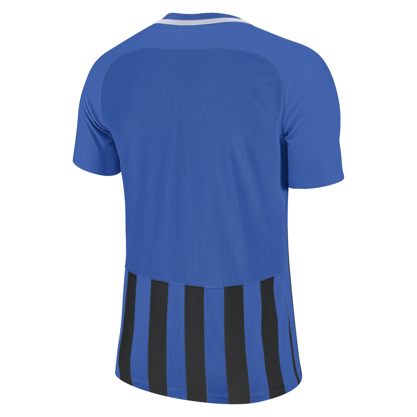Nike Striped Division III Short Sleeve Shirt Royal Blue-Black-White-White