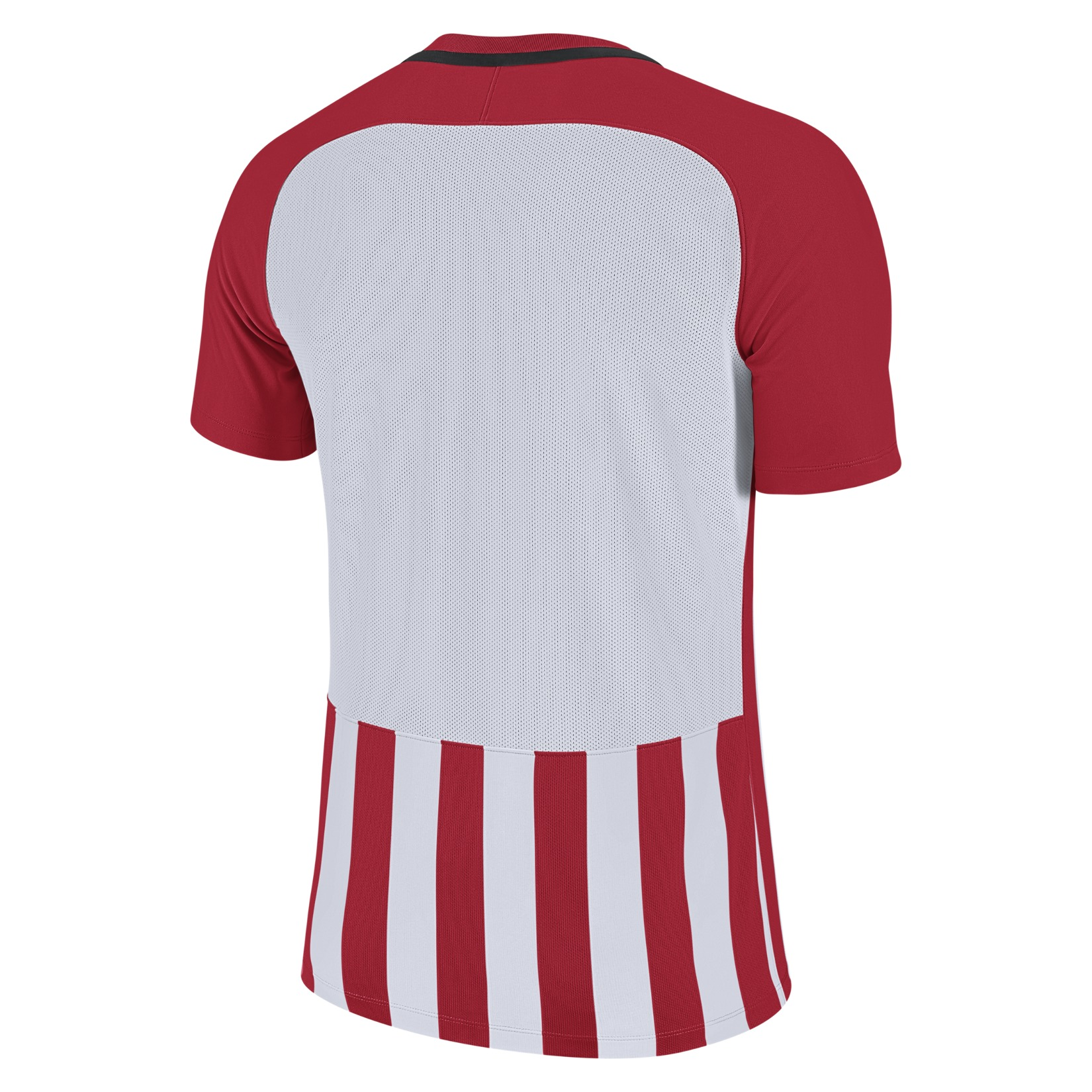 Nike Striped Division III Short Sleeve Shirt University Red-White-Black-Black