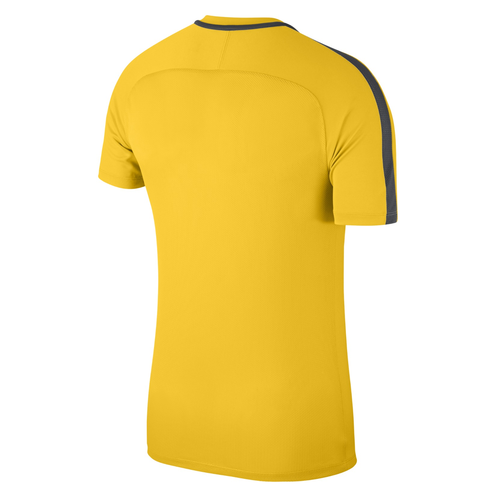 Nike Academy 18 Short Sleeve Top (m) Tour Yellow-Anthracite-Black