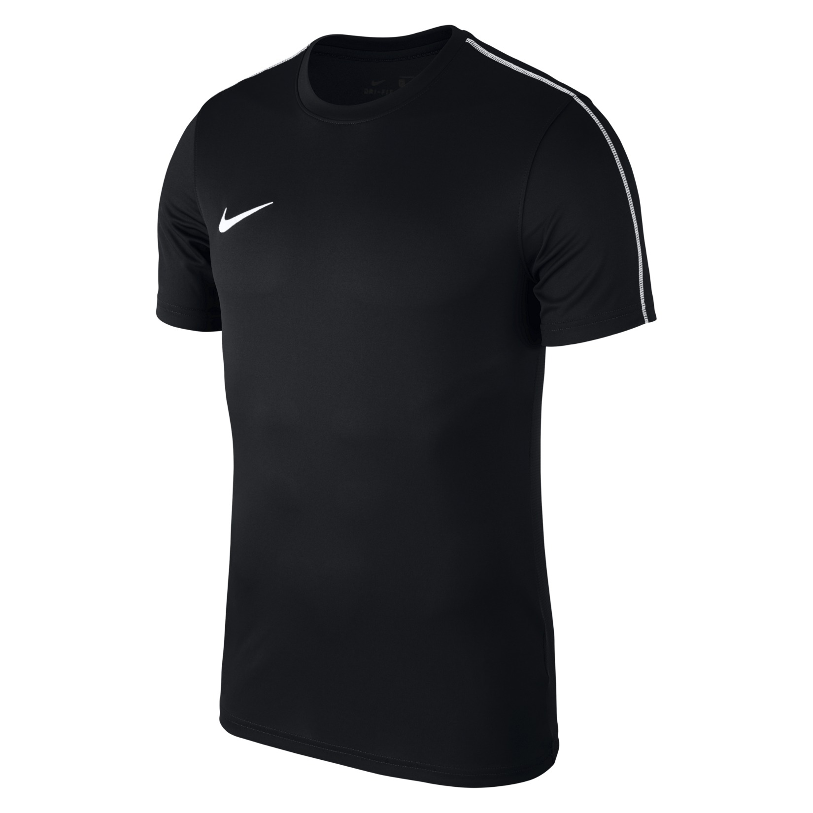 Nike Park 18 Short Sleeve Shirt Black-White-White