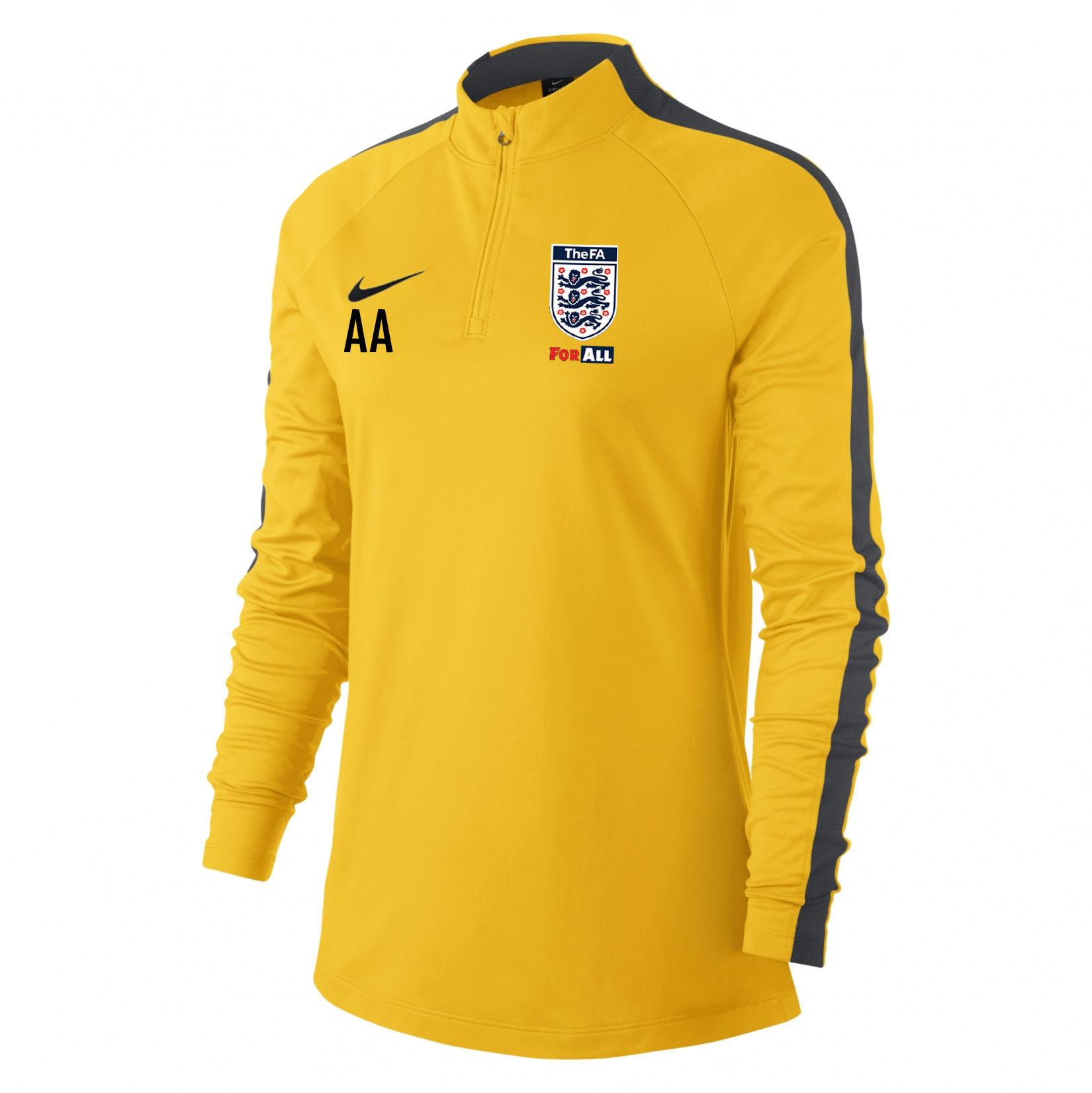 Nike Womens Academy 18 Midlayer Top (W) Tour Yellow-Anthracite-Black