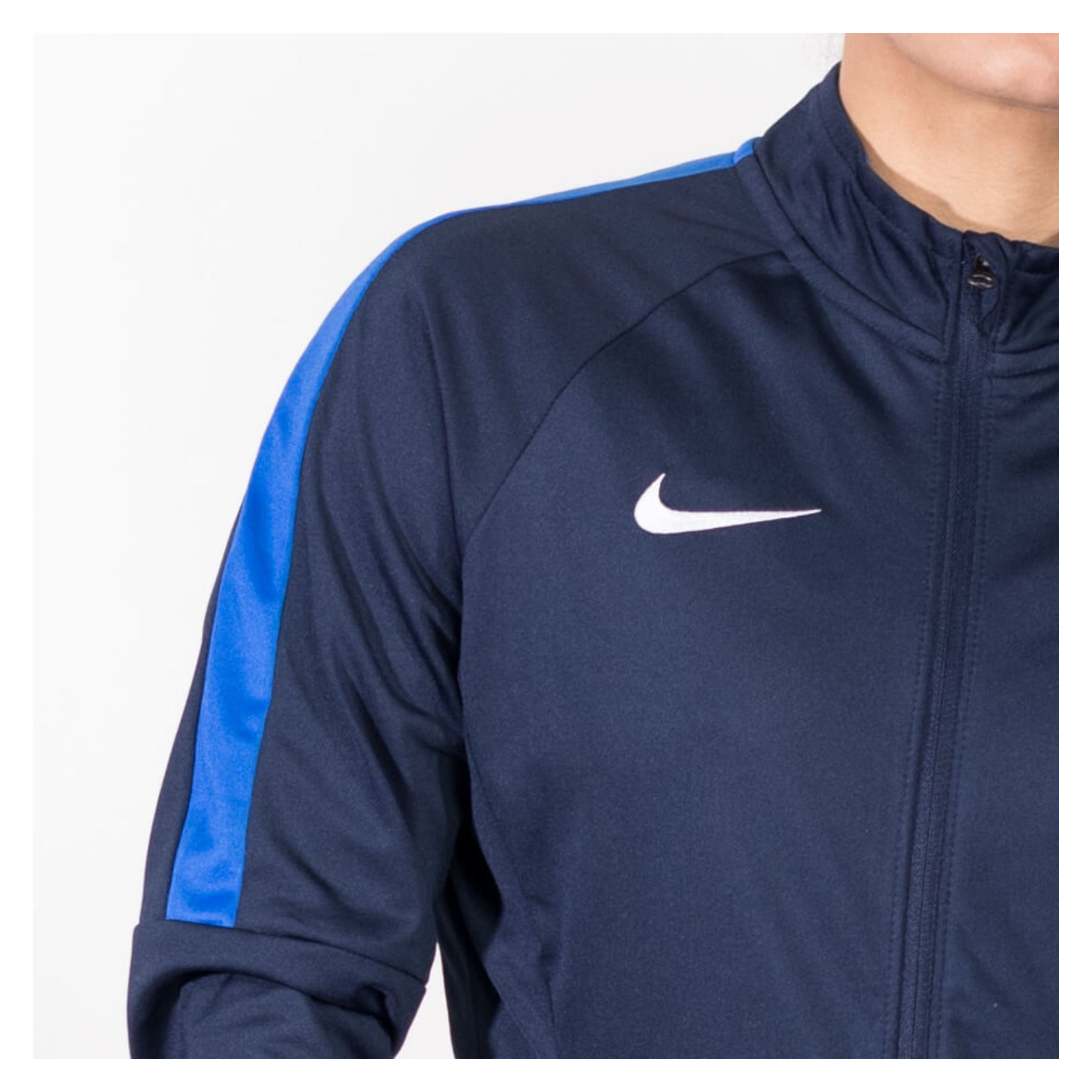 Nike Womens Academy 18 Tracksuit Jacket (w) Obsidian-Royal Blue-White