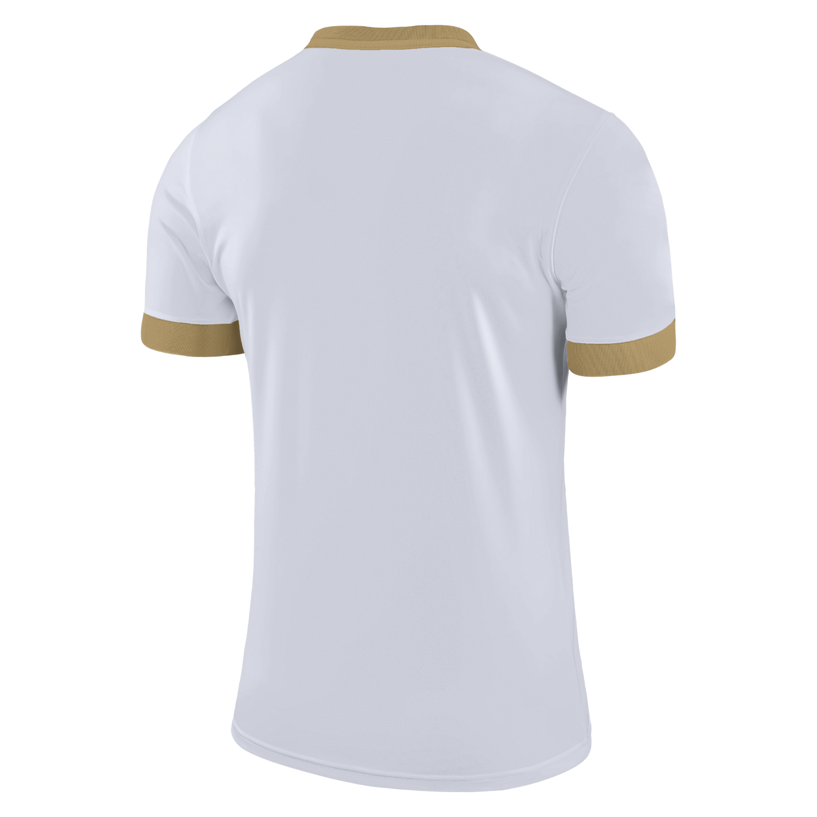 Nike Park Derby II Short Sleeve Shirt White-Jersey Gold-Jersey Gold-Black