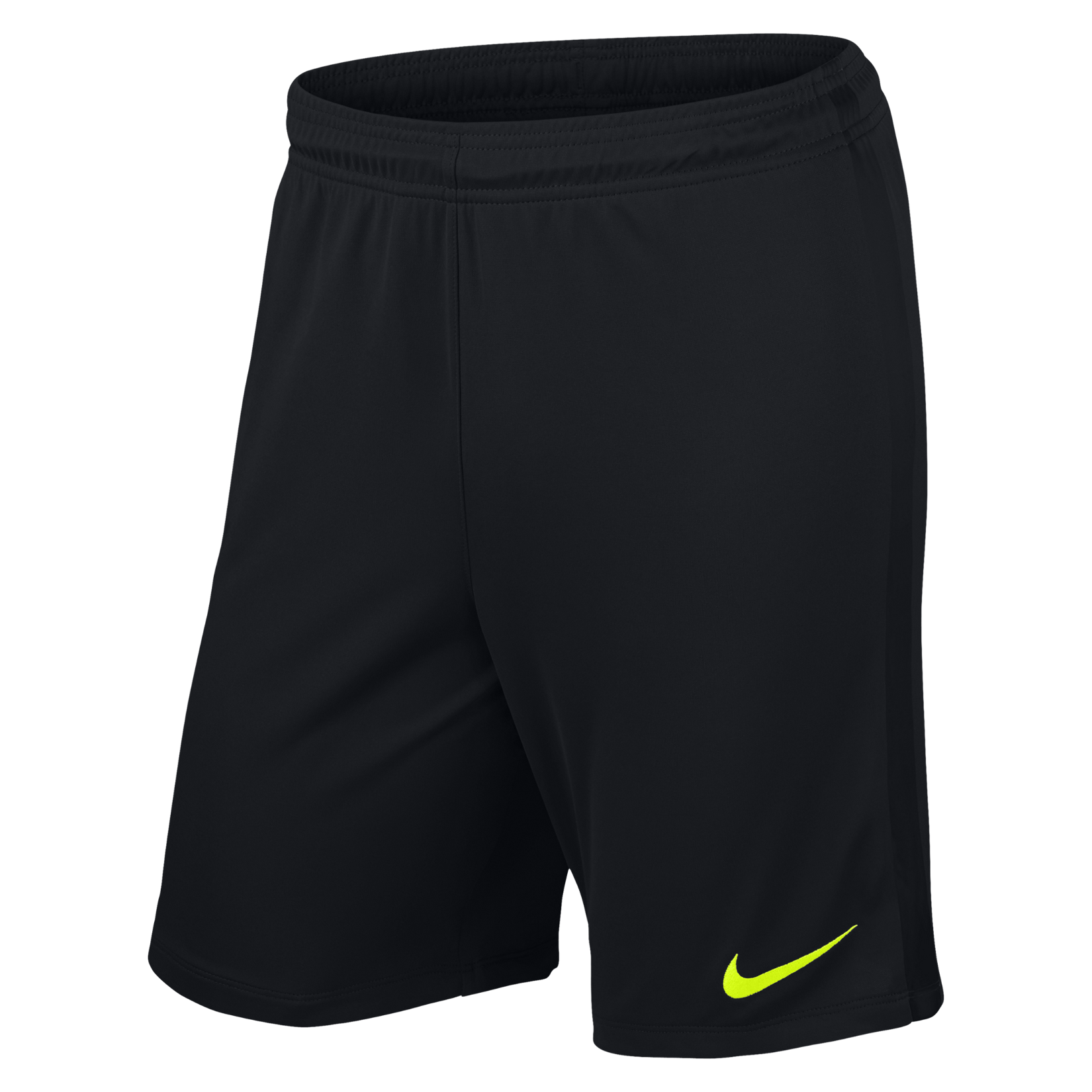 Nike League Knit Short Black-Black-Volt