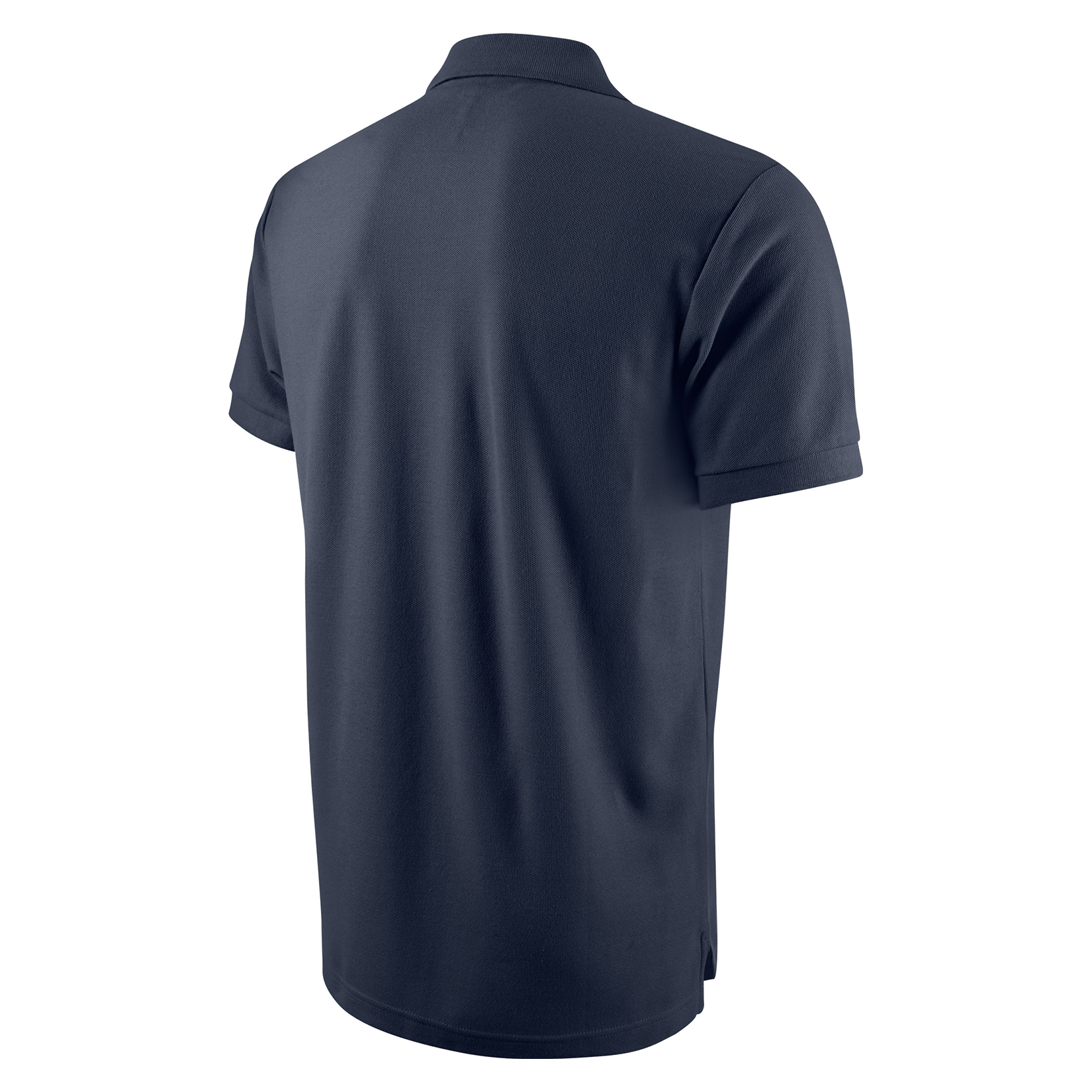 Nike Core Cotton Polo Shirt Obsidian-White