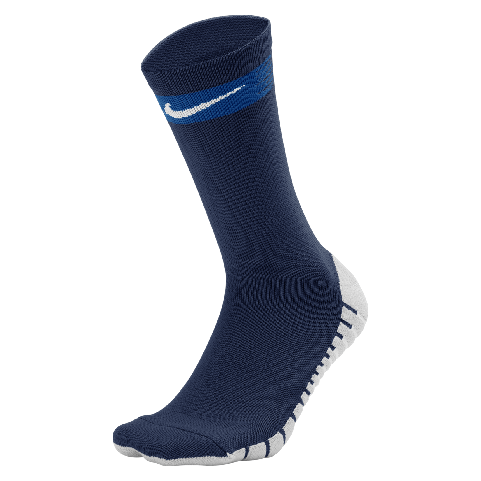 Nike Matchfit Crew Football Socks Obsidian-Deep Royal-White