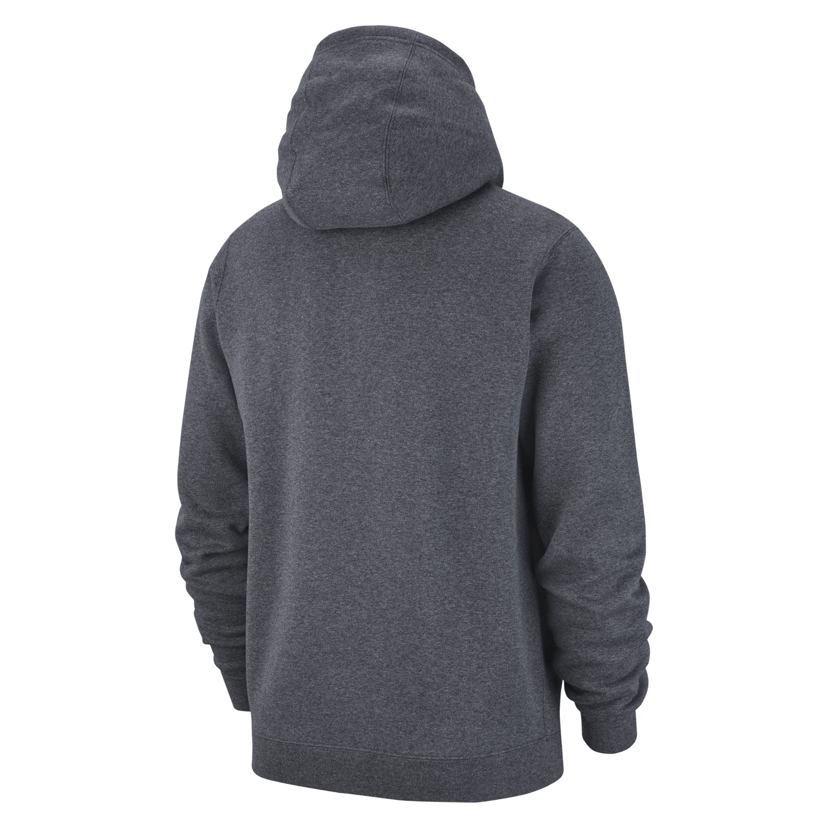 Nike Team Club 19 Hoodie Charcoal Heathr-Anthracite-White-White