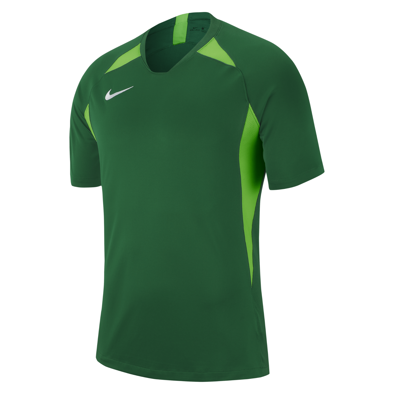 Nike Legend Short Sleeve Jersey Pine Green-Action Green-White