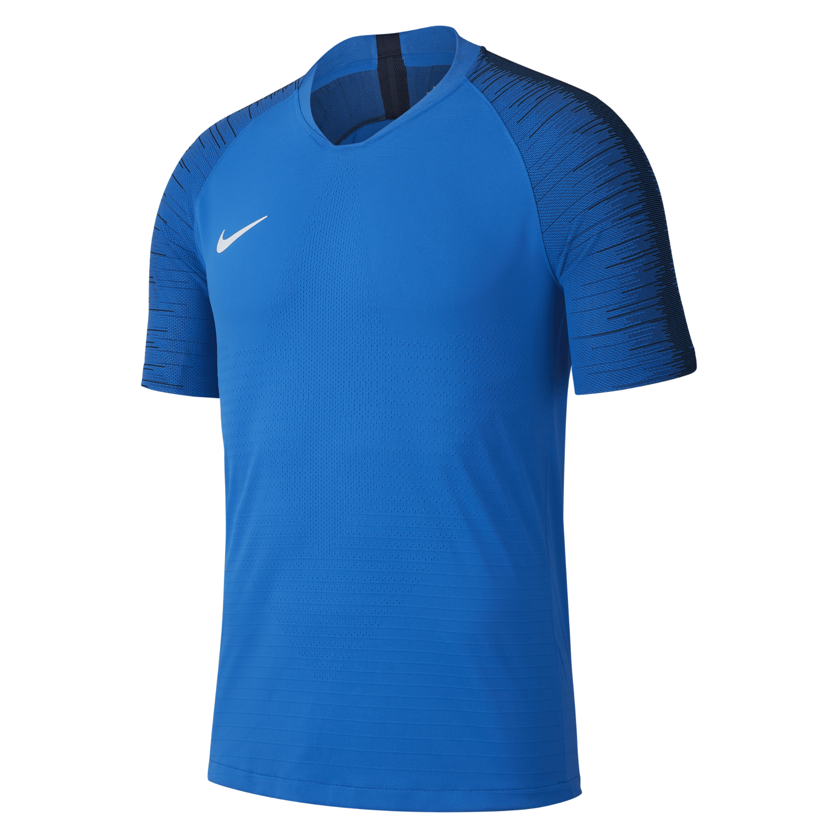 Nike Vapor Knit II Short Sleeve Shirt Royal Blue-Obsidian-White