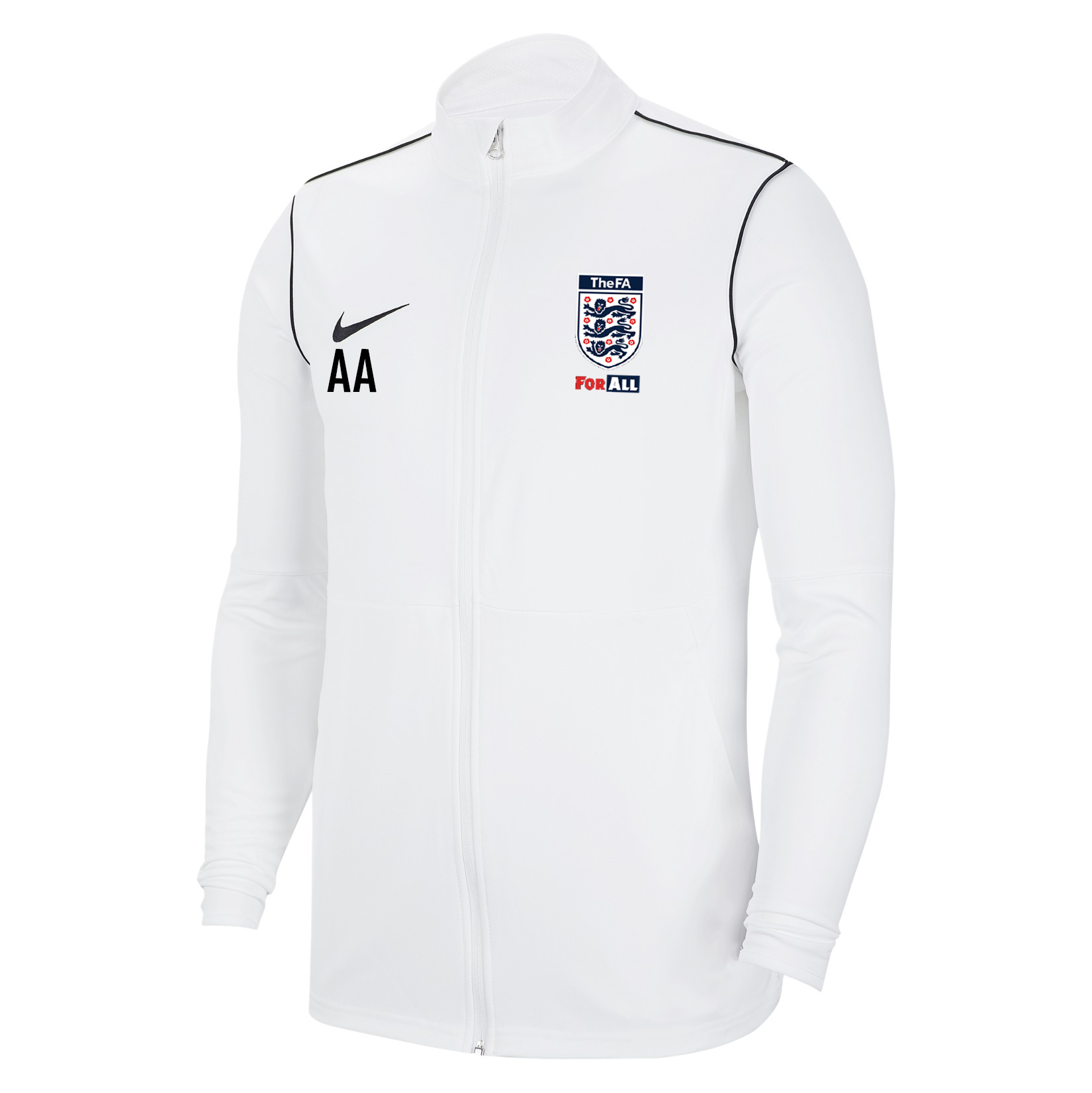 Nike Dri-FIT Park 20 Knitted Track Jacket White-Black-Black