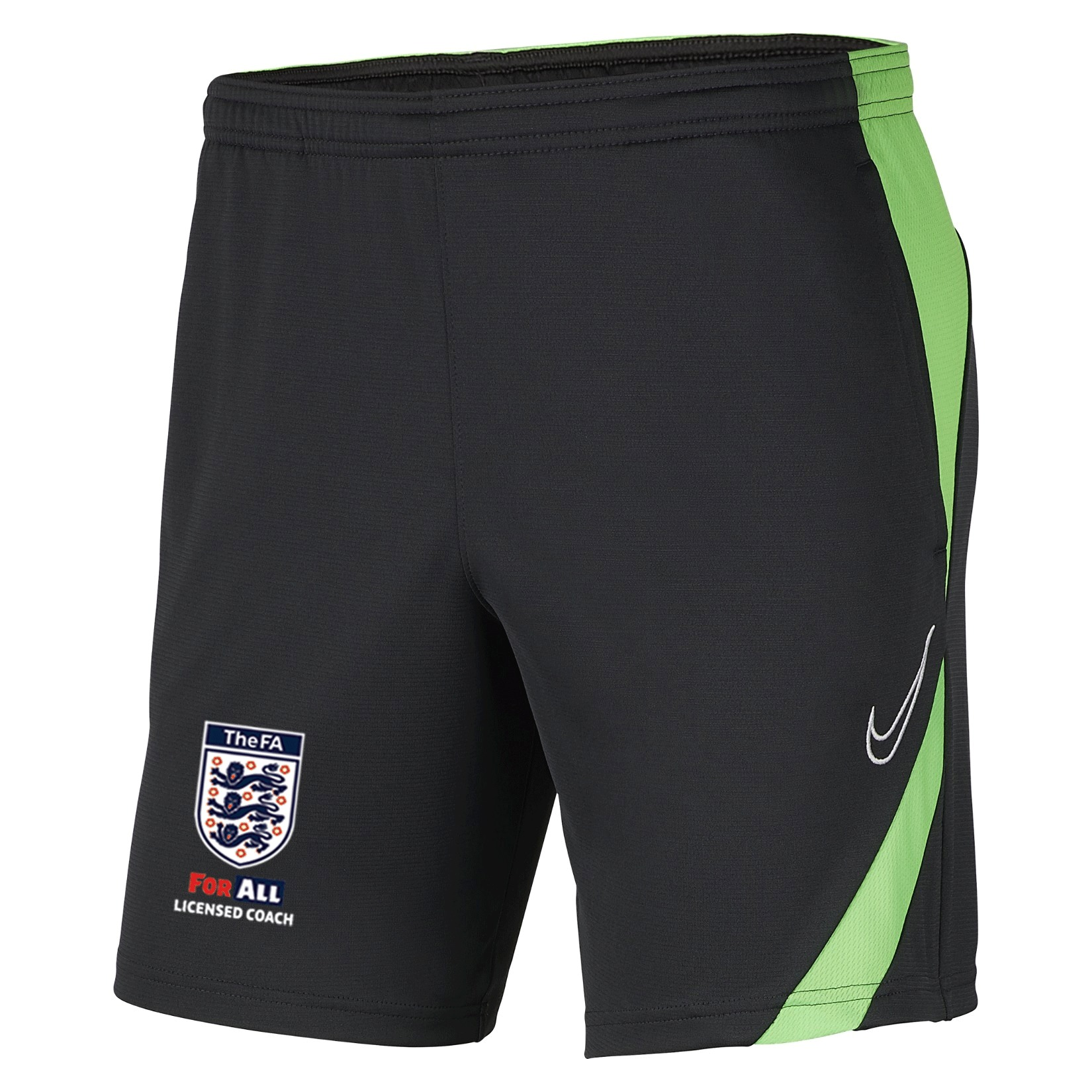 Nike Dri-fit Academy Pro Pocketed Shorts  Anthracite-Green Strike-White