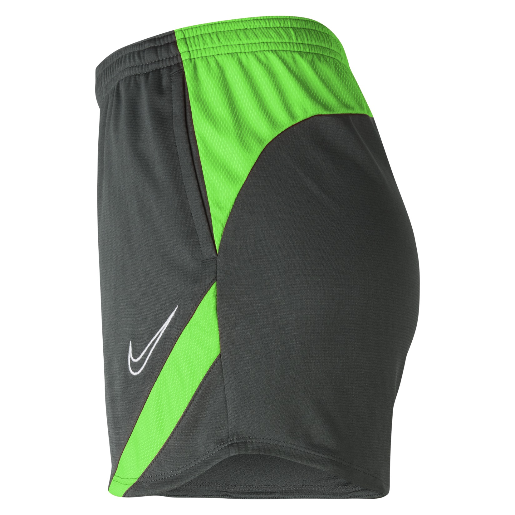 Nike Womens Dri-FIT Academy Pro Shorts (W) Anthracite-Green Strike-White