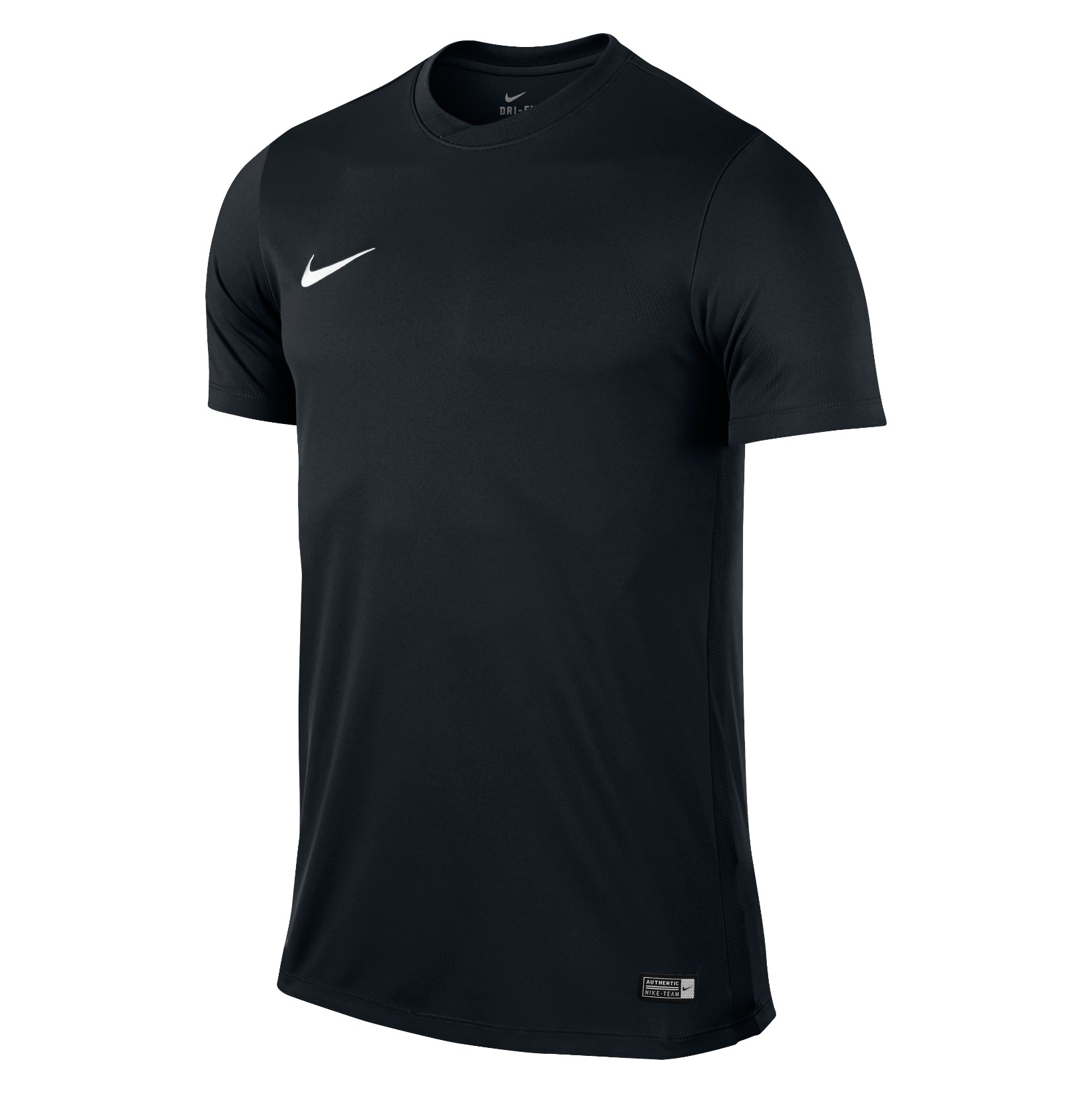 Nike Park VI Short Sleeve Shirt Black-White