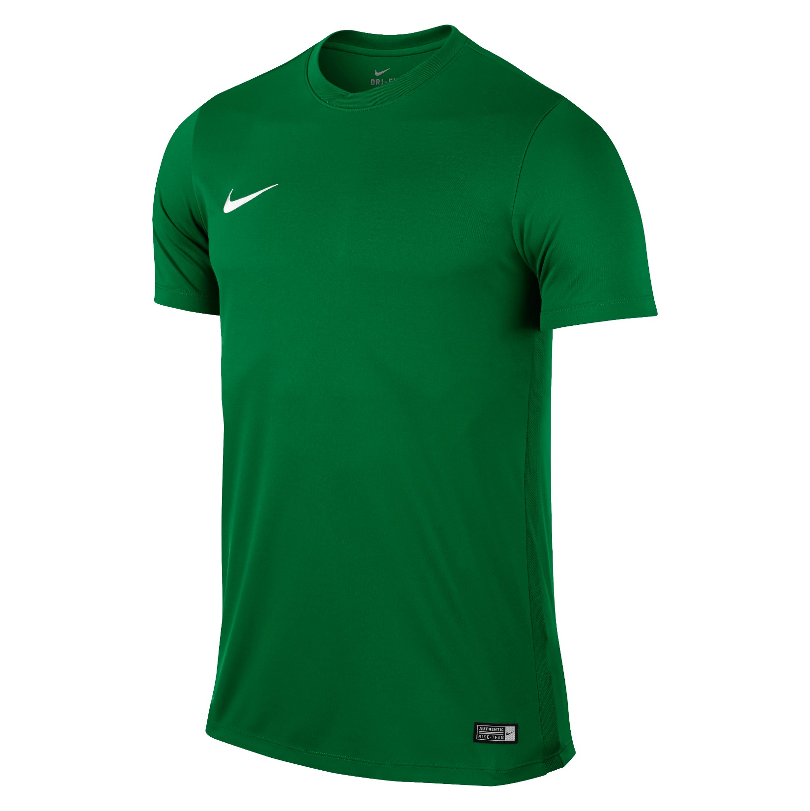 Nike Park VI Short Sleeve Shirt Pine Green-White