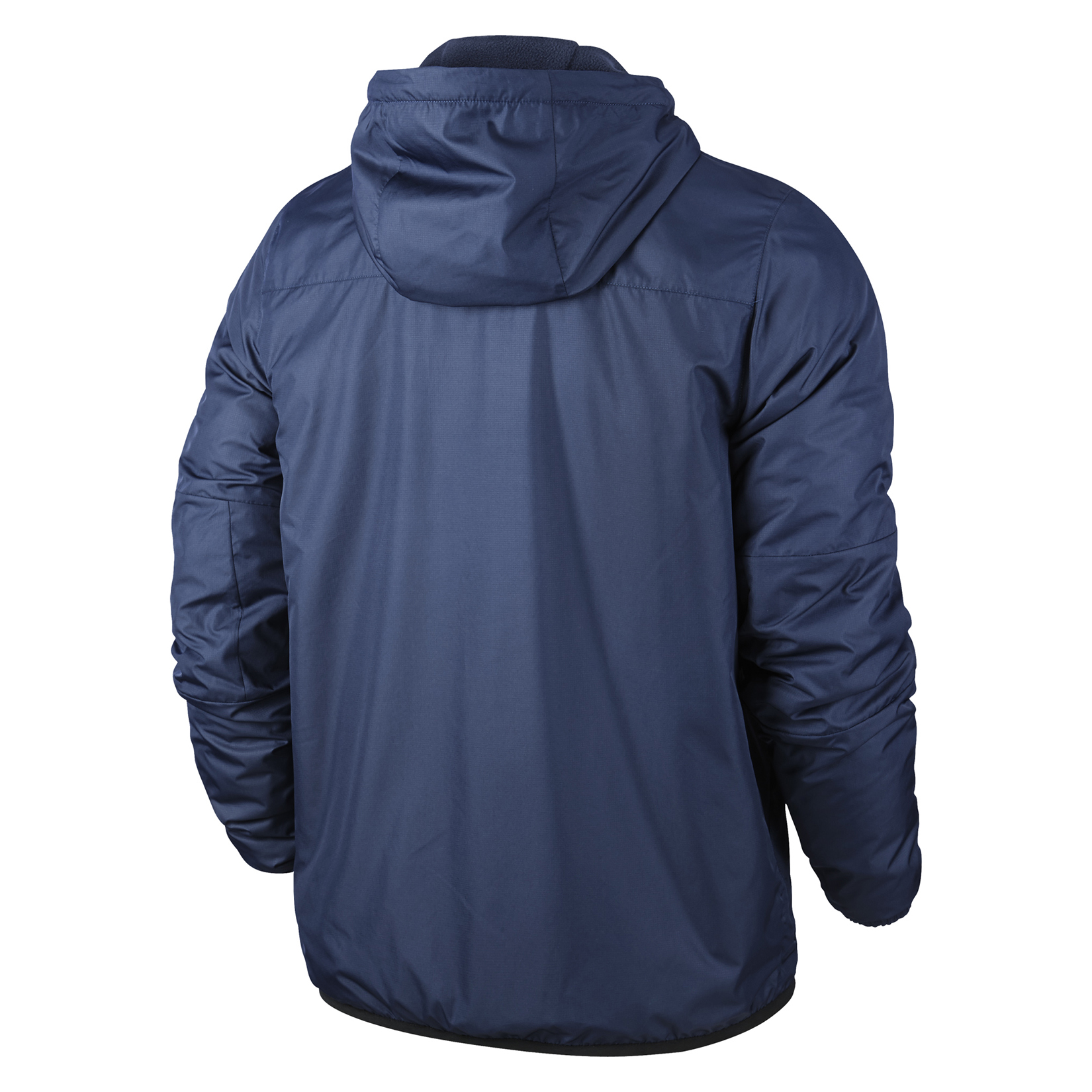 Nike Team Fall Fleece Lined Jacket Obsidian-Dark Obsidian-White