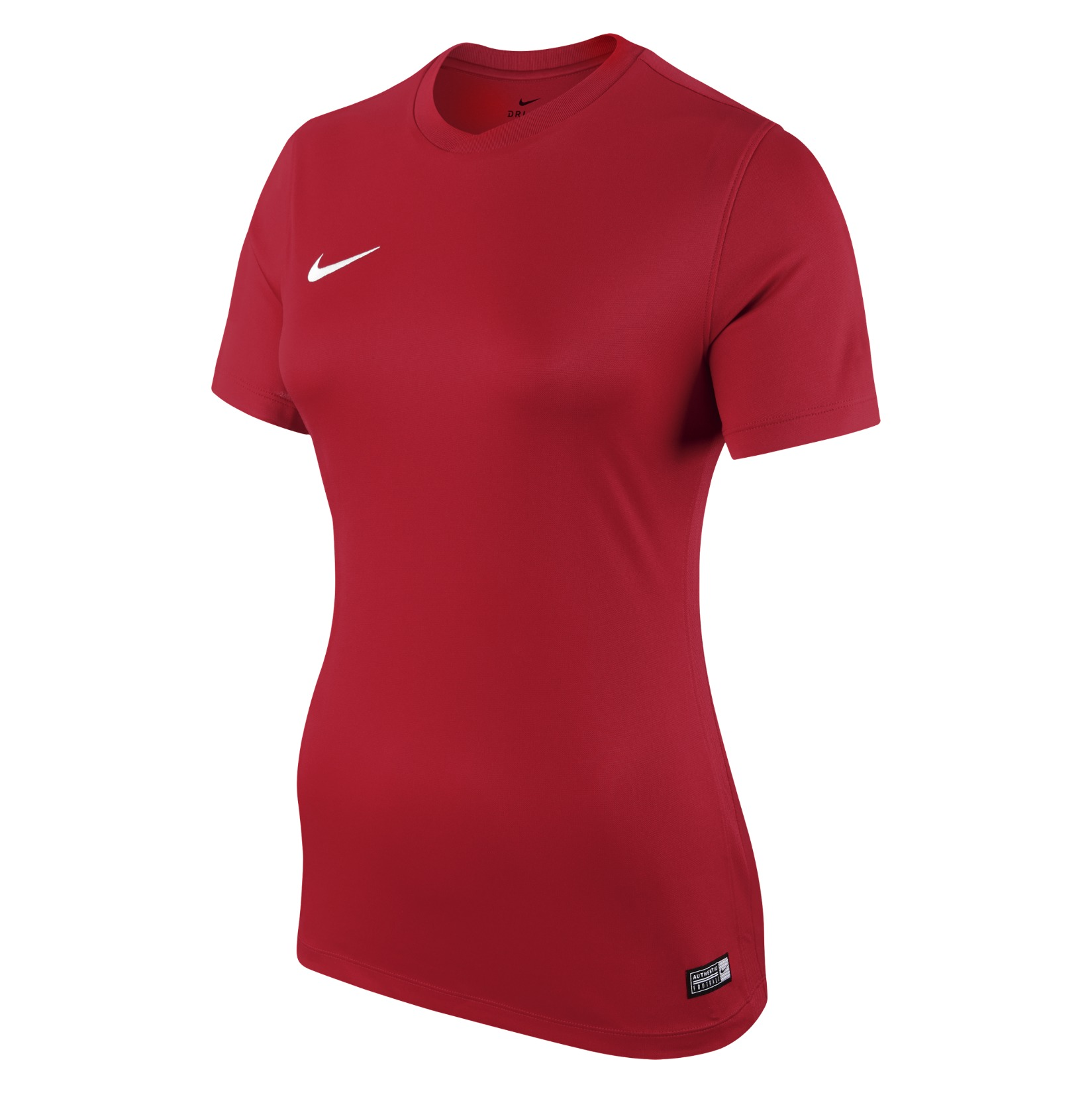 Nike Womens Park VI Short Sleeve Shirt (w) University Red-White