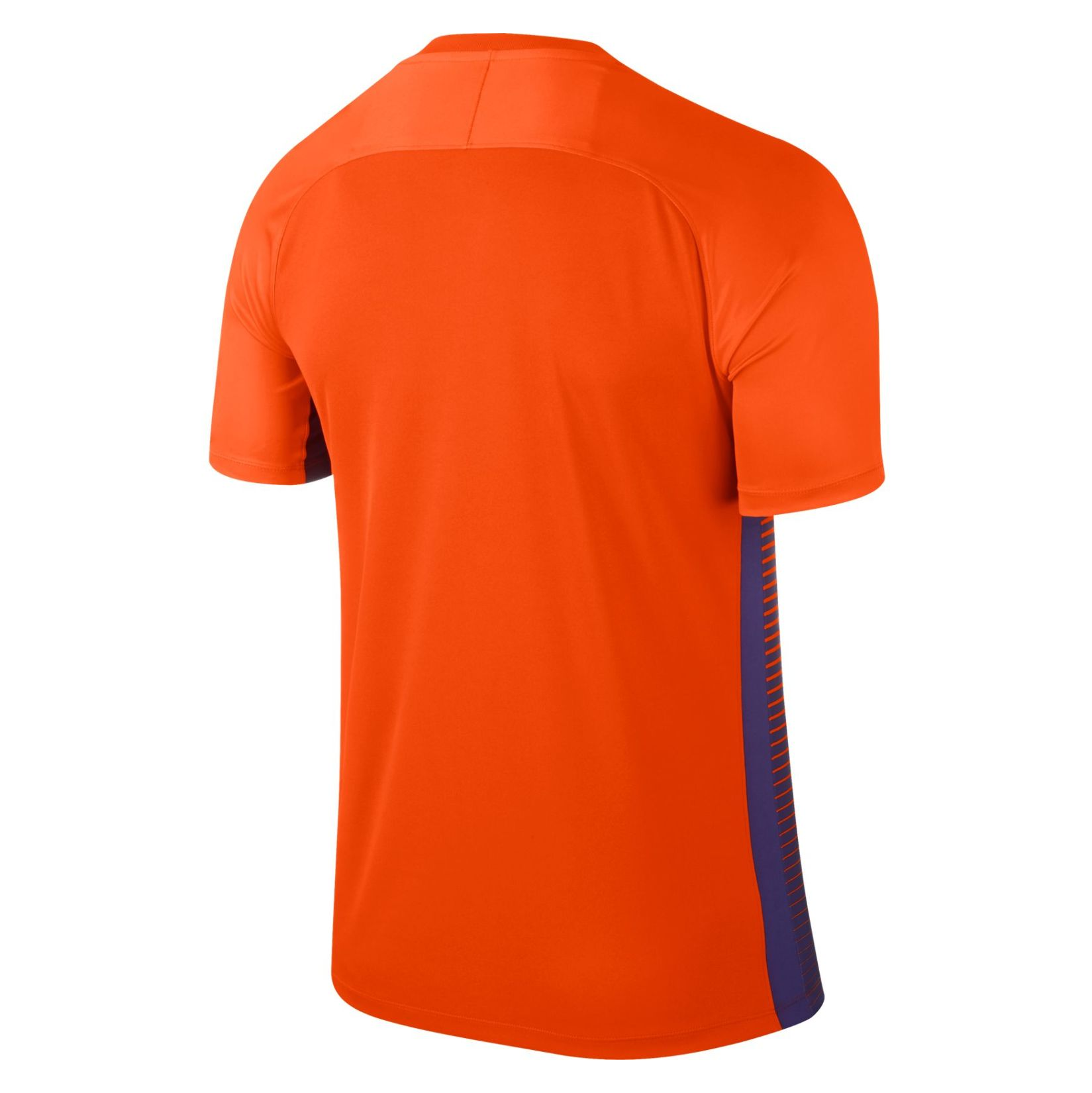 Nike Precision Iv Short Sleeve Shirt Safety Orange-Court Purple-Black