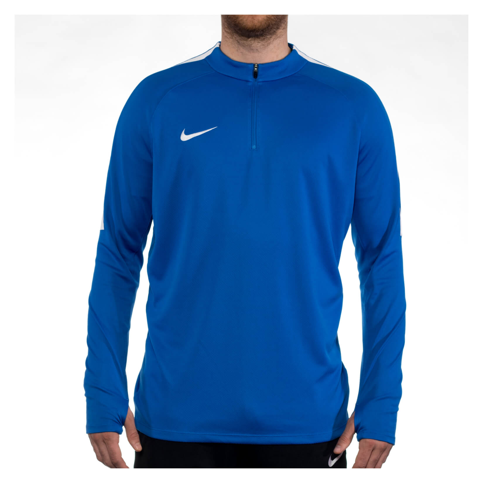 Nike Squad 17 Midlayer (m) Royal Blue-White-White