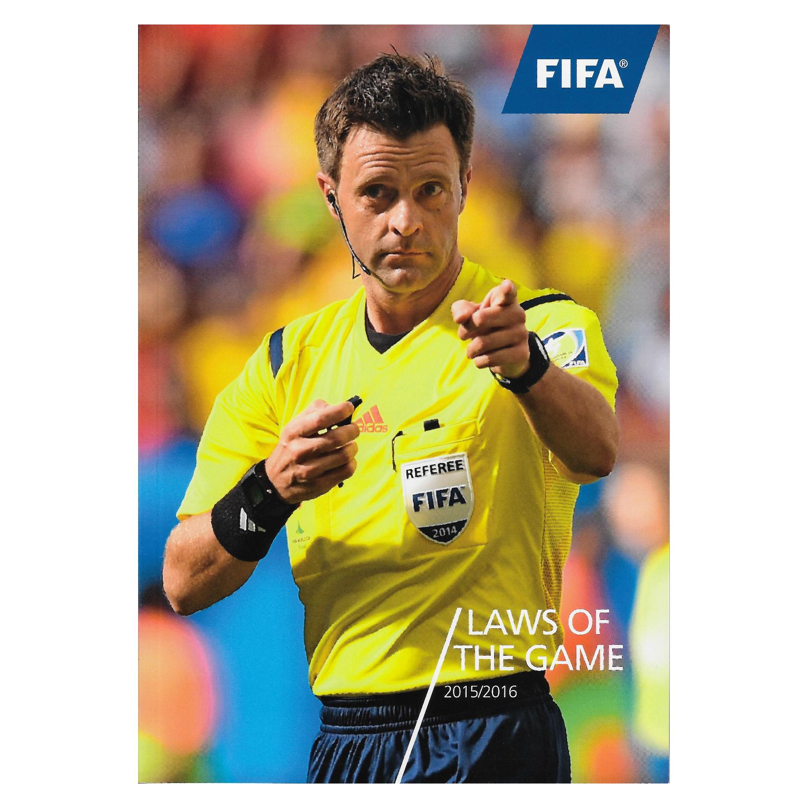 FA Laws Of The Game - Book Misc-1-2108-4442