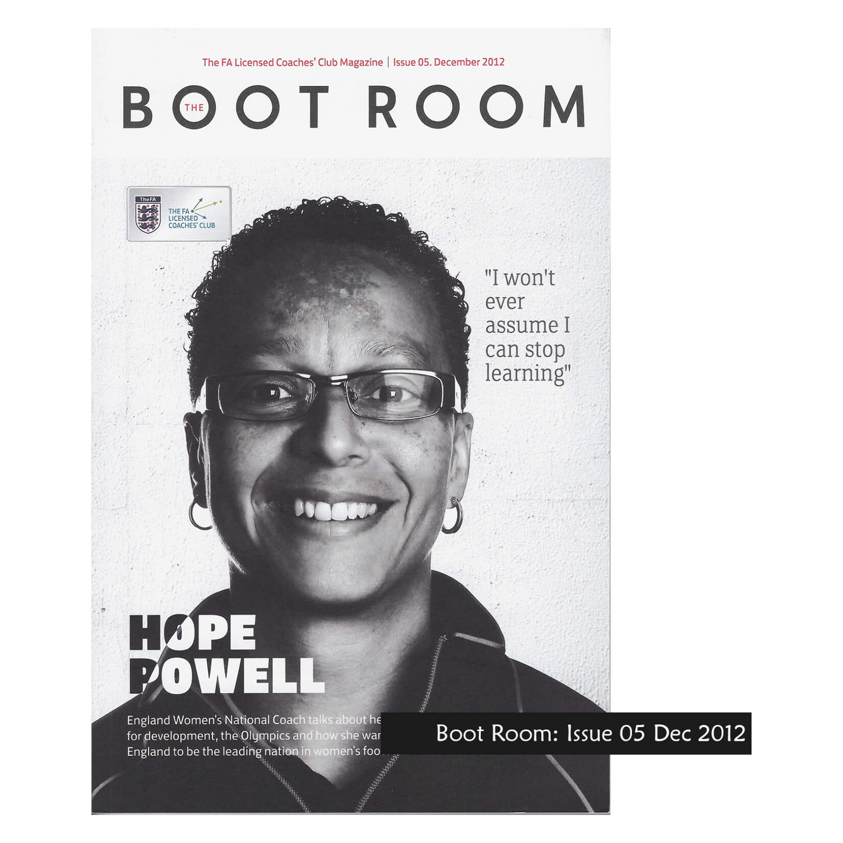 FA Boot Room Issue 05: Hope Powell - Magazine Misc-1-2082-4432