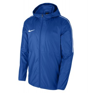 Nike Park 18 Rain Jacket Royal Blue-White-White