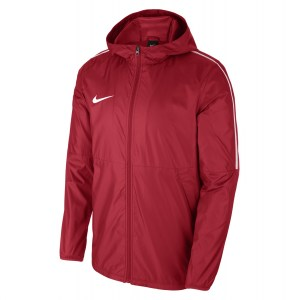 Nike Park 18 Rain Jacket University Red-White-White