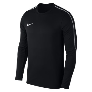 Nike Park 18 Crew Top Black-White-White