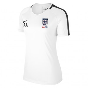 Nike Womens Academy 18 Short Sleeve Top (W) White-Black-Black