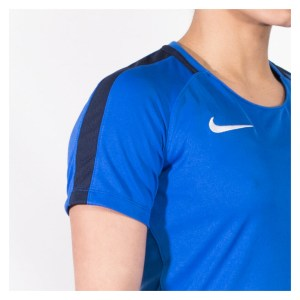 Nike Womens Academy 18 Short Sleeve Top (W) Royal Blue-Obsidian-White