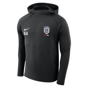 Nike Academy 18 Hoodie Black-Anthracite-Anthracite-White