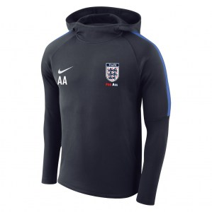 Nike Academy 18 Hoodie Obsidian-Royal Blue-Royal Blue-White