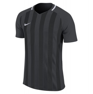 Nike Striped Division III Short Sleeve Shirt Anthracite-Black-White-White