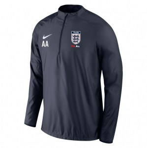 Nike Academy 18 Shield Drill Top Obsidian-Obsidian-White