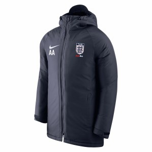 Nike Academy 18 Padded Winter Jacket Obsidian-Obsidian-White