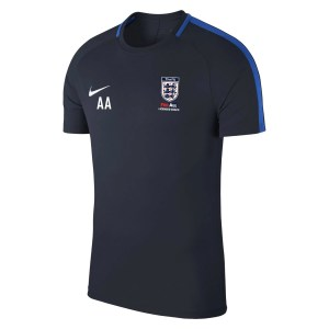 Nike Academy 18 Short Sleeve Top (m) Obsidian-Royal Blue-White