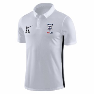 Nike Academy 18 Performance Polo (M) White-Black-Black