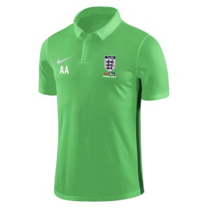 Nike Academy 18 Performance Polo (m) Lt Green Spark-Pine Green-White