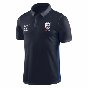 Nike Academy 18 Performance Polo (M) Obsidian-Royal Blue-White