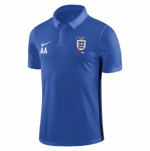 Nike Academy 18 Performance Polo (M) Royal Blue-Obsidian-White