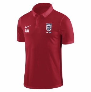 Nike Academy 18 Performance Polo (M) University Red-Gym Red-White