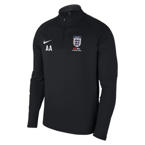 Nike Academy 18 Midlayer Top (m) Black-Anthracite-White