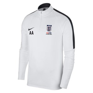 Nike Academy 18 Midlayer Top (m) White-Black-Black
