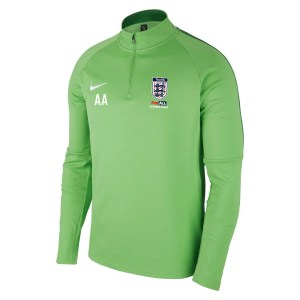 Nike Academy 18 Midlayer Top (m) Lt Green Spark-Pine Green-White