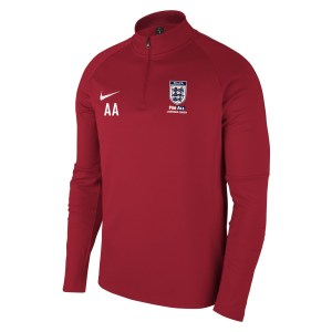 Nike Academy 18 Midlayer Top (m) University Red-Gym Red-White