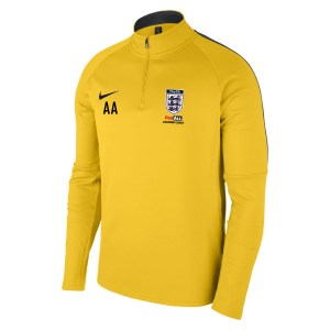 Nike Academy 18 Midlayer Top (m) Tour Yellow-Anthracite-Black