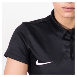 Nike Womens Academy 18 Performance Polo (w) Black-Anthracite-White
