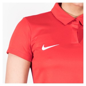 Nike Womens Academy 18 Performance Polo (w) University Red-Gym Red-White