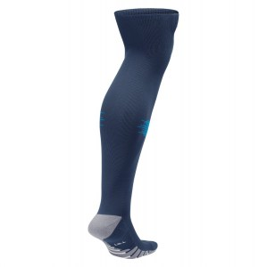 Nike Team Matchfit Over-the-calf Socks Midnight Navy-Game Royal-White